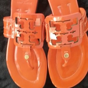 NEW Tory Burch Square Miller Sandals